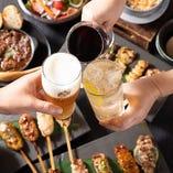 名物を盛り込んだコース料理でご宴会はいかがでしょうか?