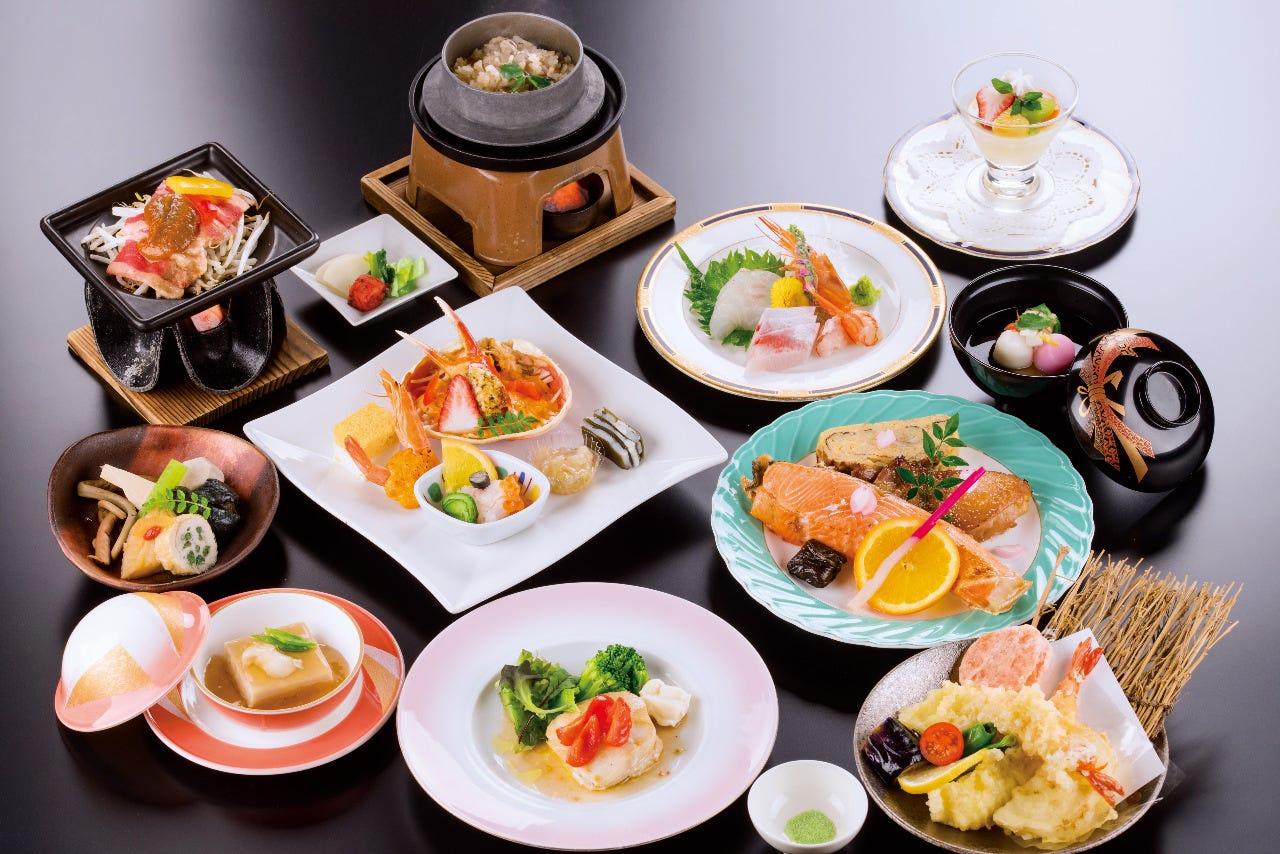 寿ぎ~ことほぎ~お料理12品(お飲み物別)