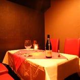 ◆接待にぴったりな落ち着いた個室もございます