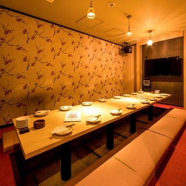 肉炙り寿司が旨い個室居酒屋 肉星と寿司姫 栄錦店 店内の画像
