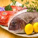 当店こだわり食材!築地直送鮮魚を使用しています。【東京都】