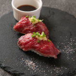 肉寿司(牛たたき)