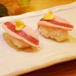 馬フタエゴ寿司
