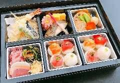 手まり寿司懐石弁当