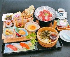 【限定10食】お昼の階段盛御膳