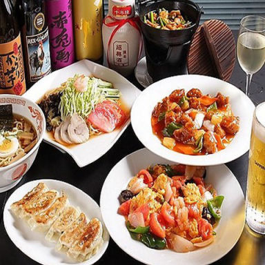 食べ飲み放題 中華居酒屋 茶居銘 都賀店 コースの画像