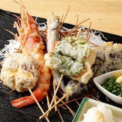 串天ぷらと日本酒バル かぐら 大阪福島