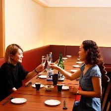 日本酒バルでお昼から贅沢に◎