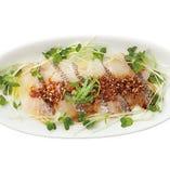 【期間限定】真鯛のザクザク醤油カルパッチョ