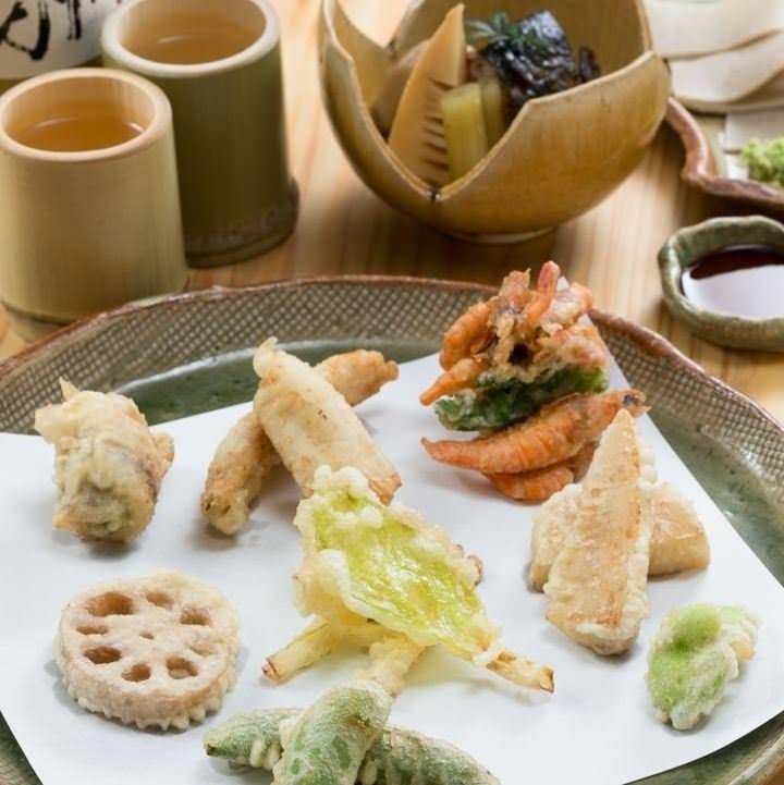 蕎麦屋の自慢の天ぷら
