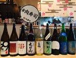 [日本酒にこだわる]水と米処「富山の地酒」もご用意しています