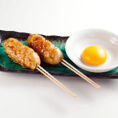 軟骨入りつくね串(塩レモン・月見・明太マヨ・チーズ)