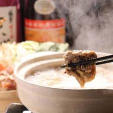 白濁スープが絶品!濃厚な本格水炊き