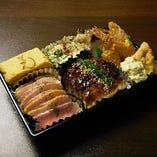オードブルCセット(肉料理・魚介・揚げ物2~3人前セット)