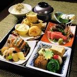 ◆ちょっとお昼ご飯を贅沢に…【ごっさん特製松花堂弁当】(要予約)
