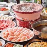 焼肉、しゃぶしゃぶ、ジンギスカン……お好きな食べ方で食べ放題
