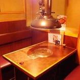 テーブル個室 2~8名様までOK!少人数利用大歓迎◎