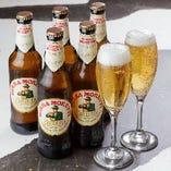 『モレッティ ビール』で朝まで乾杯
