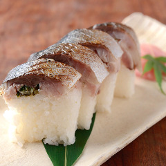 名物 あぶり鯖寿司