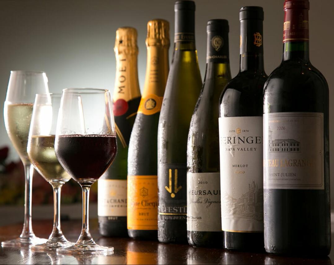定番からこだわりのワインまで♪ドリンクメニューを多彩にご用意