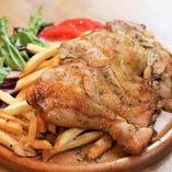 鶏モモ肉のタンドリーチキン