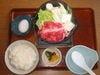 牛すき焼き小鍋定食