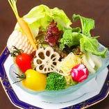 季節の旬素材の味をご賞味下さい。