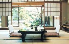 お部屋から見えるこだわりの日本庭園