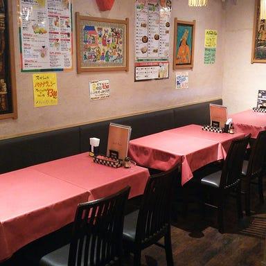 インドレストラン ガンジス あべのキューズタウン店 店内の画像