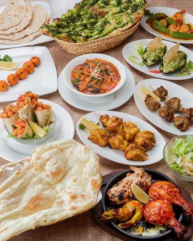 インドレストラン ガンジス あべのキューズタウン店 コースの画像