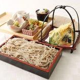 天ぷらせいろ蕎麦御膳