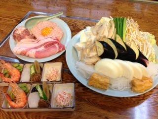 相撲料理 浜力  メニューの画像