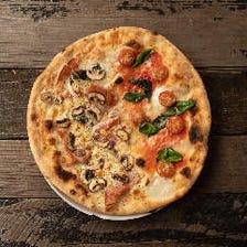 ハーフ&ハーフできます! 1枚で2度美味しい!お好きなピッツァを組み合わせ