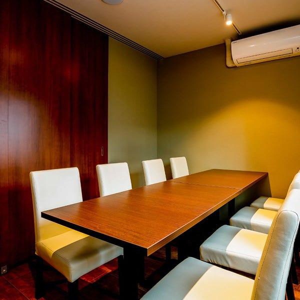 個室を完備。女子会や接待などに最適◎
