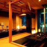 人数に合わせてご宴会に最適な個室席を完備しております!