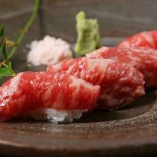 【hareja名物】サーロイン肉ずし