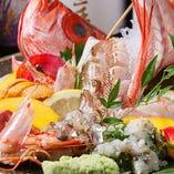 瀬戸内市牛窓町の水産業者から仕入れる新鮮魚介のお造りは絶品!