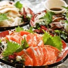 刺身や天ぷらも食べ放題