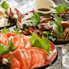 【土日祝日】90分食べ放題 刺身も天ぷらも 料理30種以上のランチバイキング