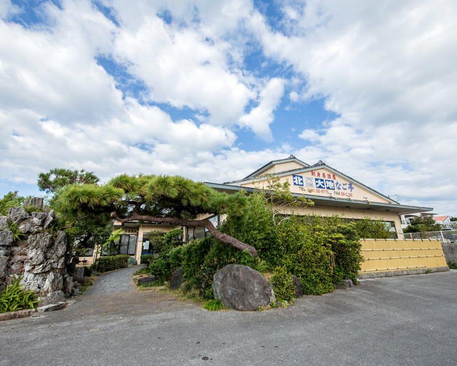◆日本庭園をモチーフにした外観