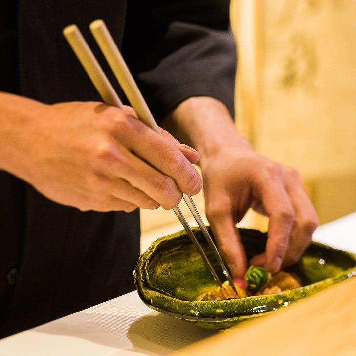 料理人の技が冴える 割烹の真髄をご堪能ください