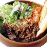 アロハサラダ(焼肉/ガーリックトースト付)