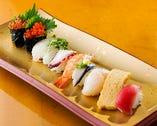 板さんお任せ十種寿司