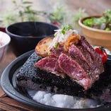 富士溶岩焼きステーキ御膳