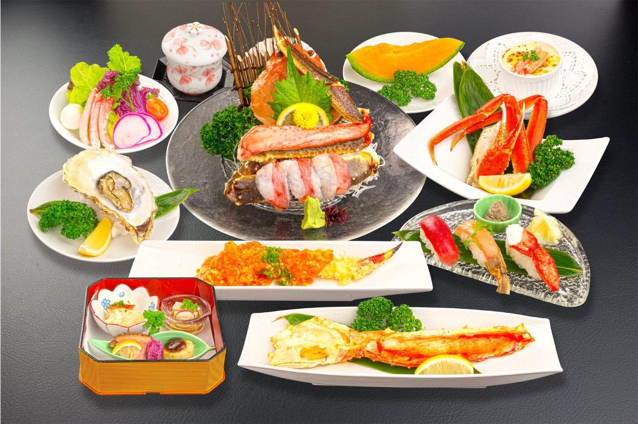 多彩なコース料理