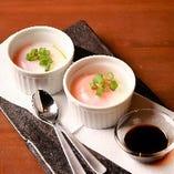 温泉卵と燻製しょうゆ(1個)