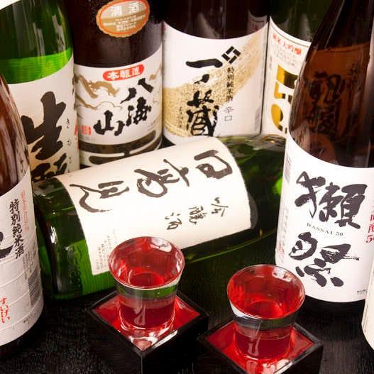 銘柄【日本酒・焼酎】約30種類