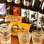 日本酒、焼酎こだわります!美味いい飯には美味い酒を。