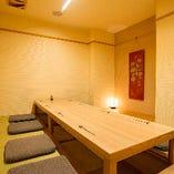 掘りごたつ席完全個室(4名様~10名様)