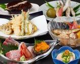 旬のおすすめがラインナップ!人気は会席料理5000円コース。